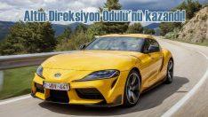 Toyota GR Supra'ya 'Altın Direksiyon Ödülü'