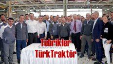 TürkTraktör'ün üretim başarısı 'Gümüş Seviye'ye çıktı