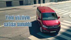 Yeni Transporter Türkiye'de satışa sunuldu
