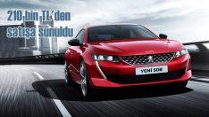 Peugeot'nun en radikal sedanı: 508 satışa sunuldu