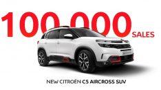 Yeni Citroen C5 Aircross SUV, 1 yılda 100 bin adetlik satışa ulaştı!