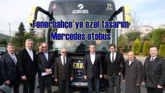 Gürsel Turizm'den Fenerbahçe'ye özel tasarım Mercedes otobüs