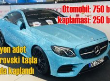 1 milyon swarovski taşla kaplı otomobil FESPA Eurasia'da