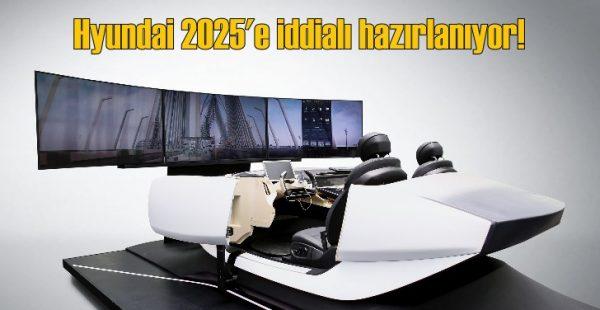 Hyundai'nin 2025 stratejisinde 'Akılcı Mobilite Araçlar' var