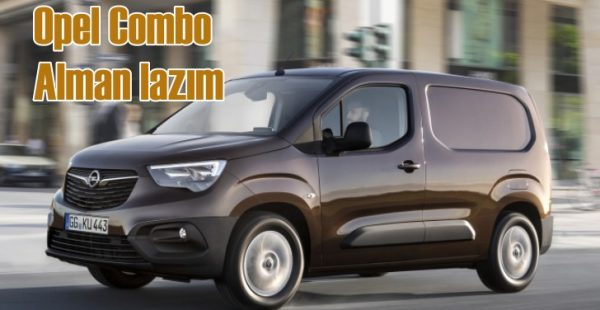 Opel Combo Alman lazım