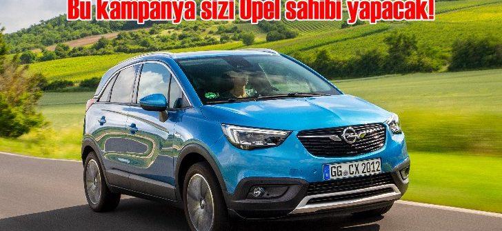 Opel, Aralık'ta sizi otomobil sahibi yapmaya kararlı