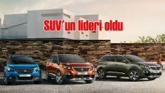Peugeot Türkiye, SUV'de segment lideri oldu