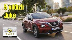 Yeni Nissan Juke'a Euro NCAP'ten ödül