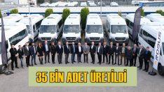 Mercedes, Türkiye'de 35 bin Sprinter üretti