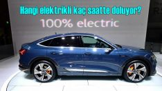 Elektrikli otomobiller kaç saatte şarj oluyor?