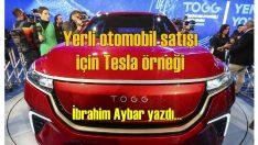 Yerli otomobil için İbrahim Aybar'dan öneriler