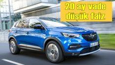 Opel'den 20 ay vade ve düşük faizli kredi