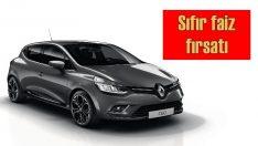 Renault'da Ocak ayında sıfır faiz