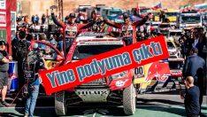 Toyota Dakar Rallisi'ni başarıyla tamamladı
