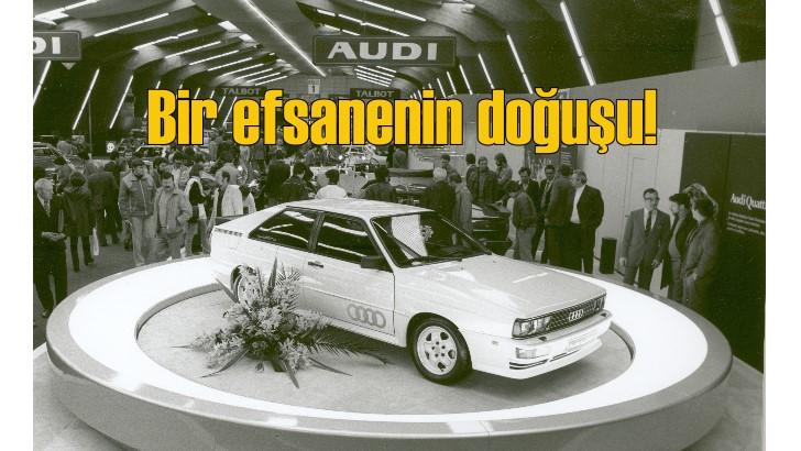 Audi'nin quattro'su 40'ıncı yaşını kutluyor
