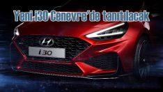 Hyundai Yeni i30 Cenevre'de sahneye çıkacak