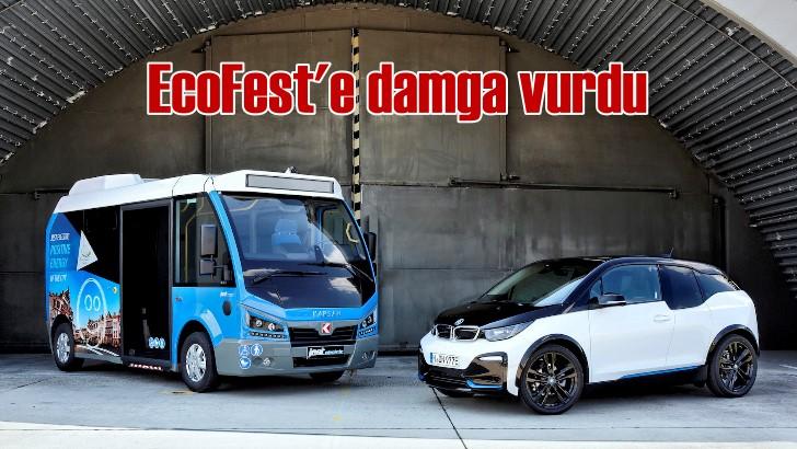 Karsan Jest Electric, EcoFest etkinliğine damga vurdu