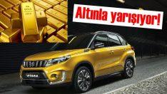 Altınla yarışan otomobil   Suzuki Vitara