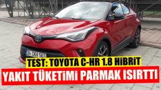 Toyota C-HR Hybrid Testi