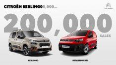 Citroen Berlingo 200 bin adetlik satışa ulaştı
