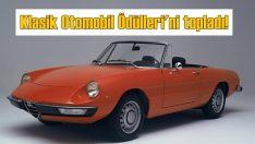 Alfa Romeo'ya 'Klasik Otomobil Ödülleri'nde çifte ödül