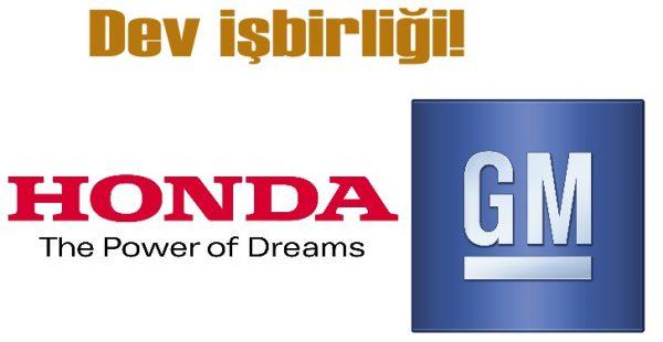 Honda ile GM elektriklide işbirliğine gidiyor