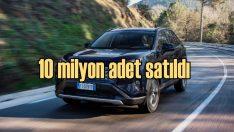 Toyota'nın RAV4 modelinin satışı 10 milyonu aştı!