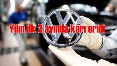 Alman Volkswagen'in kârı eridi