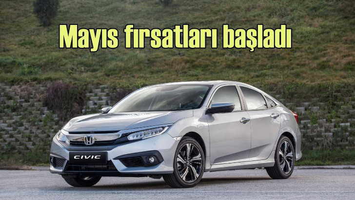 Honda'dan Mayıs fırsatları