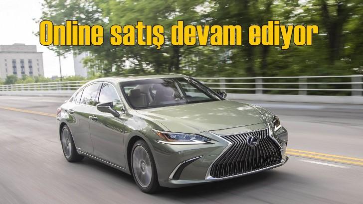 Lexus görüntülü görüşmeyle satışlarına devam ediyor
