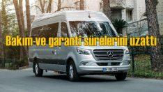 Mercedes ticari araçlarda bakım ve garantiyi uzattı