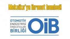 OİB, Latin Amerika'ya online satışla ihracatını artıracak