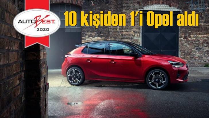 Nisan ayında satılan 10 otomobilden 1'i Opel oldu