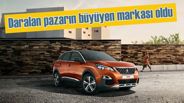 Peugeot Türkiye pazar payını artırdı | Nisan ayının pazar lideri Peugeot