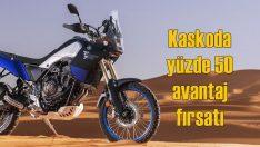 Yamaha Kasko'da yüzde 50 avantaj fırsatı