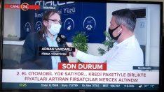 Yazarımız Adnan Vardarlı 'İkinci El' piyasasını 24 TV'ye yorumladı