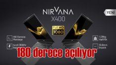 180 derece açılabilen Casper Nirvana X400 tanıtıldı