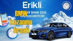 Erikli su, yeni kampanyasıyla BMW 3.20i kazandıracak!