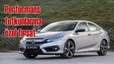 Honda'dan sedan seven performans tutkunlarına Haziran'da fırsat