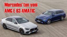 Yeni Mercedes-AMG E 63 4MATIC+ Sedan ve Estate tanıtıldı