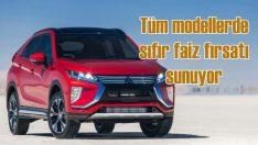Mitsubishi, Haziran'da tüm modellerde 'Sıfır Faiz' fırsatı sunuyor