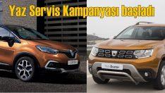 Renault ve Dacia'da 'Yaz Servis Kampanyası'