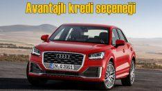 Audi Q2'lere avantajlı kredi koşullarıyla sahip olma fırsatı