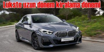 Yeni BMW 118i ve 218i Gran Coupe'de uzun dönem kiralama fırsatı