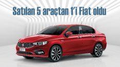 Fiat binek ve hafif ticaride ilk 6 ayın lideri oldu