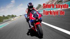 Honda'nın en güçlü motosikleti sınırlı sayıda Türkiye'de