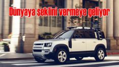 Yeni Land Rover Defender dünyaya şeklini vermek için geri döndü