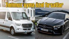 Mercedes otomobil, hafif ticari ve kamyon modellerinde kampanya