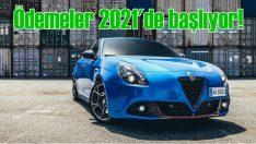 Alfa Romeo Giulietta'da ödemeler 2021'de başlıyor