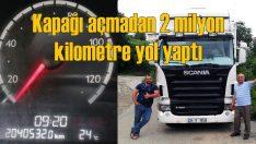 Scania, motor kapağı açılmadan 2 milyon kilometre yol yaptı